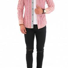 Camasa carouri - camasa barbati - camasa fashion 8442, Marime: S, M, L, XL, XXL, Culoare: Din imagine, Maneca lunga