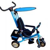 Tricicleta copii cu parasolar - albastru