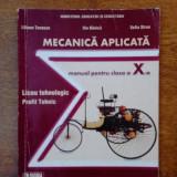 Manual mecanica aplicata profil mecatronica clasa 10 - Manual scolar Altele, Alte materii