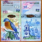!!! BERMUDA - 2 DOLARI 2009 - P 57 b - UNC / SERIA A/1 - bancnota america