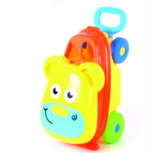 Troler ursulet de jucarie copii