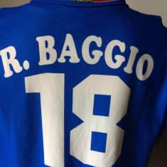 Tricou fotbal Roberto BAGGIO Italia campioana mondiala - Set echipament fotbal, Marime: XL