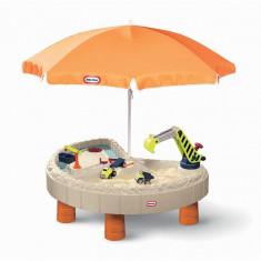 Masuta Pentru Nisip Si Apa Cu Utilaje - Spatiu de joaca Little Tikes