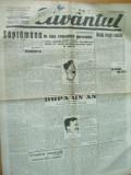 Cuvantul 11 noiembrie 1929 Nae Ionescu Maniu Prahova posta Brosteni Iorga, Nae Ionescu
