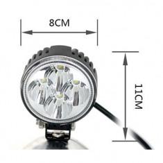 Proiector pe Led Auto 30° LED 12W 12v / 24V AL-TCT-5473, Universal