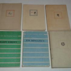 6 CARTI POEZIE COLECTIA