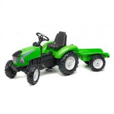 Tractor Garden Master Cu Remorca Verde Falk
