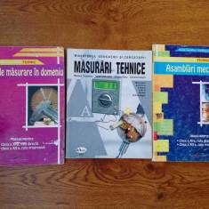 3 manuale profil mecatronica tehnci de masuri in mecanica si asamblari - Manual scolar Aramis, Clasa 11, Alte materii
