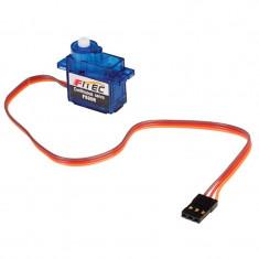 Micro Servomotor FS90R cu Rotatie Continua si Reductor din Plastic