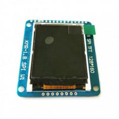 "ecran display tft lcd 1.8"" 128X160 SPI ST7735R + Soclu SD Card Arduino"