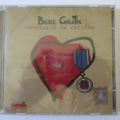 Cd nou in tipla Bere Gratis albumul Revolutie de catifea-Nova Music 2007 - Muzica Rock