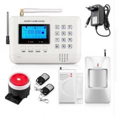 Sistem de alarma pentru casa cu modul GSM + PSTN CU SAU FARA SIM CARD - Sisteme de alarma