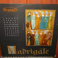 -Y- RECITAL DE MADRIGALE ( CORUL MADRIGAL )  DISC VINIL