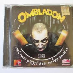 Rar! Cd Ombladon, albumul:Cel mai prost din curtea scolii-Roton 2007, stare f.buna - Muzica Hip Hop