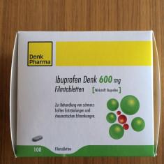 IBUPROFEN 600mg tablete filmate adulti - DENK PHARMA Germania - 10.2019, Altele