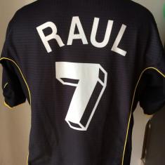 Tricou fotbal RAUL Gonzales REAL MADRID Spania campioana Europei - Set echipament fotbal, Marime: XL