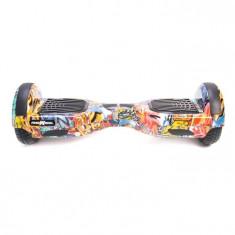 Scooter electric (hoverboard) Freewheel F1 - Graffiti Albastru