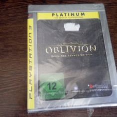 Joc ps3 PLAYSTATION The Elder Scrolls IV Oblivion - Jocuri PS3 Bethesda Softworks, Role playing, 12+
