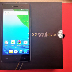 Telefon mobil Allview X2 Soul Style, Dual SIM, 16GB, 4G, Gold, decodat+garantie, Alb, Neblocat