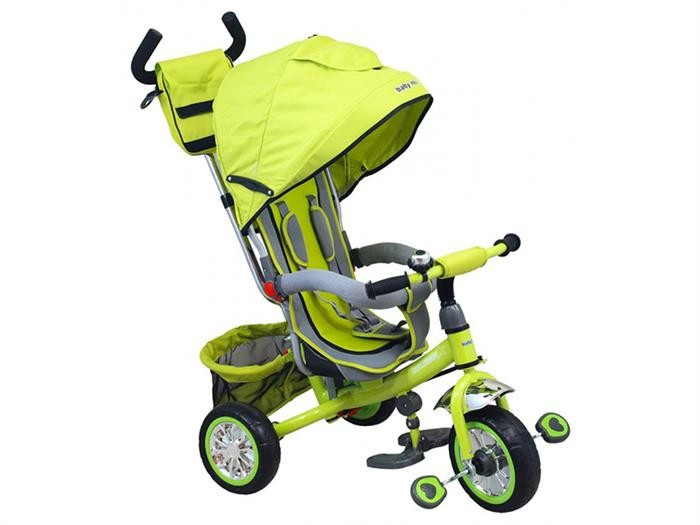 Tricicleta Copii Baby Mix 37-5 Green foto mare
