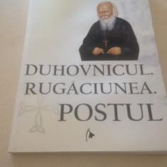DUHOVNICUL. RUGACIUNEA. POSTUL- DANION VASILE - Carti ortodoxe