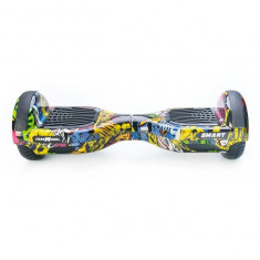 Scooter electric (hoverboard) Freewheel SMART - Graffiti Galben