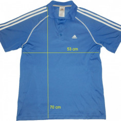 Tricou ADIDAS ClimaLite original, impecabil (M spre L) cod-445009 - Tricou barbati Adidas, Marime: M/L, Culoare: Din imagine, Maneca scurta