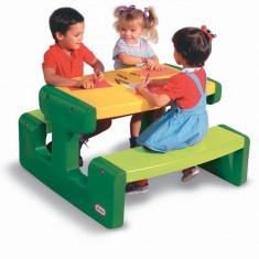 Masuta Pentru Picnic - Verde - Spatiu de joaca Little Tikes
