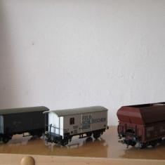 Machete feroviare - Macheta Feroviara Alta, 1:87, HO, Vagoane