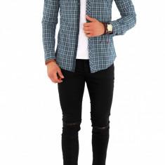 Camasa carouri - camasa barbati - camasa fashion 8448, Marime: XXL, Culoare: Din imagine, Maneca lunga