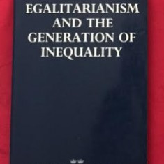 Henry Phelps Brown EGALITARIANISM AND THE GENERATION OF INEQUALITY