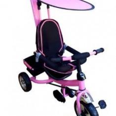 Tricicleta copii cu parasolar - roz