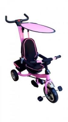 Tricicleta copii cu parasolar - roz foto