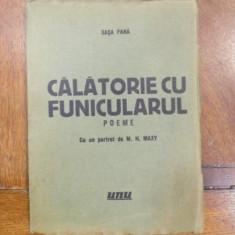 Sasa Pana, Calatorie cu funicularul, poeme, Editura UNU 1934