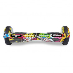 Scooter electric (hoverboard) Freewheel Junior - Graffiti galben
