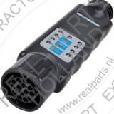 Tester cu led Carpoint pentru lumini remorca 12V cu 13 pini fisa si priza - Tester diagnoza auto
