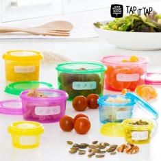 Recipiente pentru Echilibru Nutriţional Tap It Tap (7 piese)