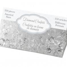 Diamant Confetti - Clear asortate Dimensiuni 12mm 9mm 5mm