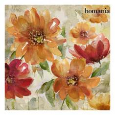 Tablou flori roșii by Homania - Pictor roman