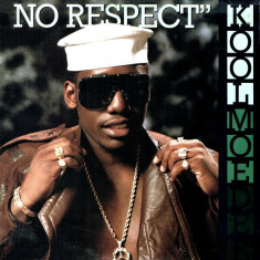 Kool Moe Dee - No Respect 1988 disc vinil Maxi Single hip-hop - Muzica Hip Hop