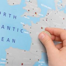 Harta Europei pentru Răzuit