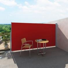 Panou separator glisant pentru terasă 180 x 300 cm, Roșu