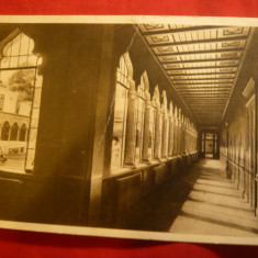 Ilustrata Bucuresti -Scoala Centrala de Fete, arh.Ion Mincu, stamp. si semnatura - Carte Postala Muntenia dupa 1918, Necirculata, Printata