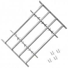 Grilaj ajustabil pentru ferestre, cu 4 bare transversale, 700-1050 mm - Protectie PC