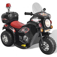 Motocicleta de jucărie electrică Negru - Elevator motociclete