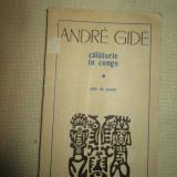 Calatorie in Congo- Andre Gide - Carte de calatorie