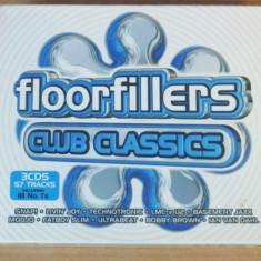 Floorfillers Club Classics 3CD (Robert Miles, Uniting Nations, Sonique, Scooter) - Muzica Dance universal records