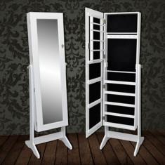 Dulap vertical cu oglindă pentru bijuterii - Dulap baie