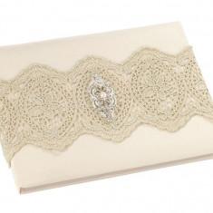 Aur Lace Cartea de oaspeți - Set bijuterii placate cu aur