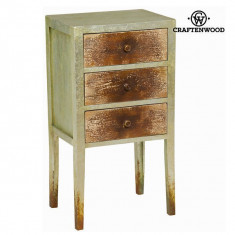 Dulap cu 3 sertare vintage by Craften Wood - Dulap copii